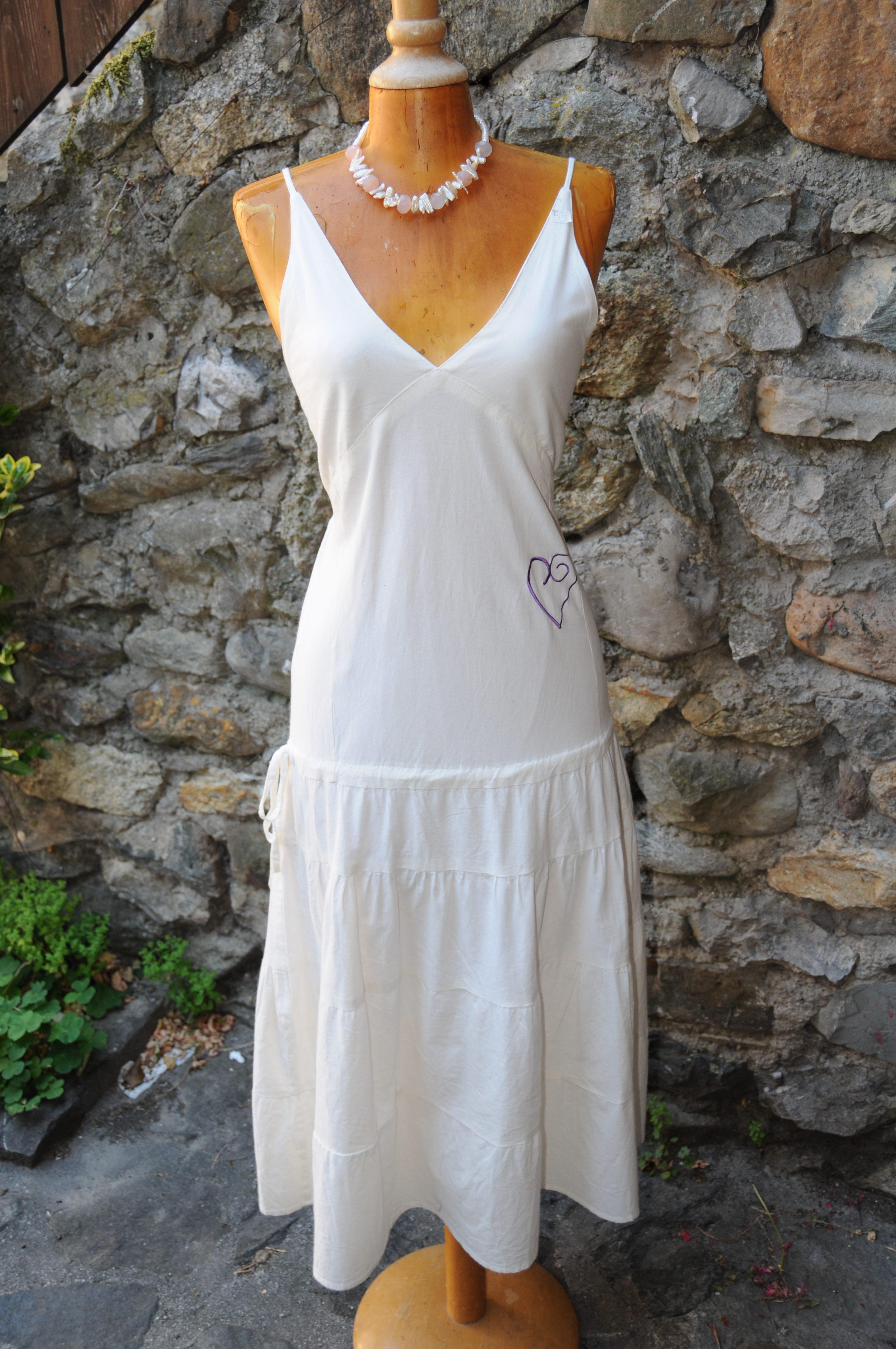 Robe blanche